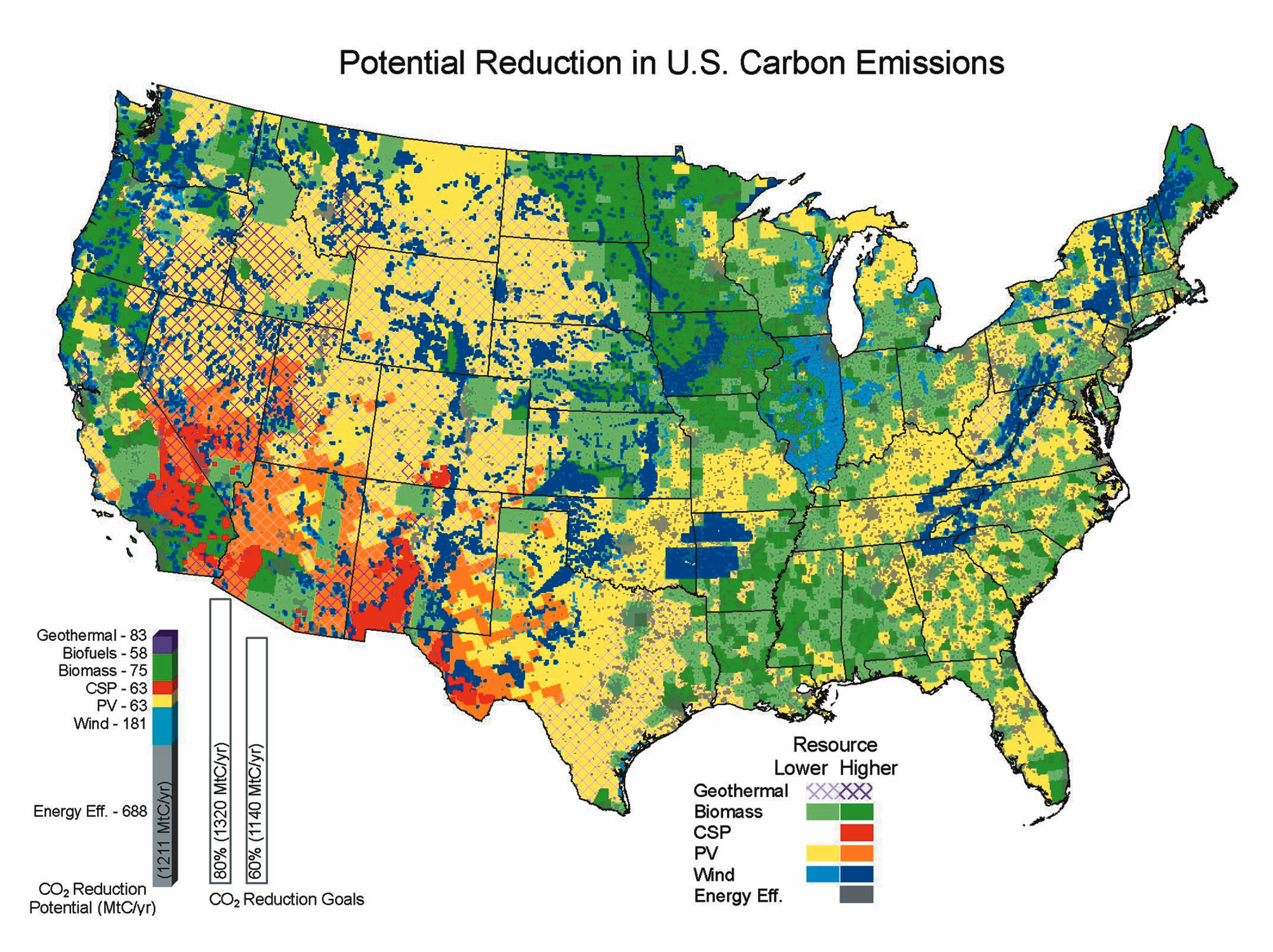 Tackling Climate Change In The US The Sietch Blog - Us energy map