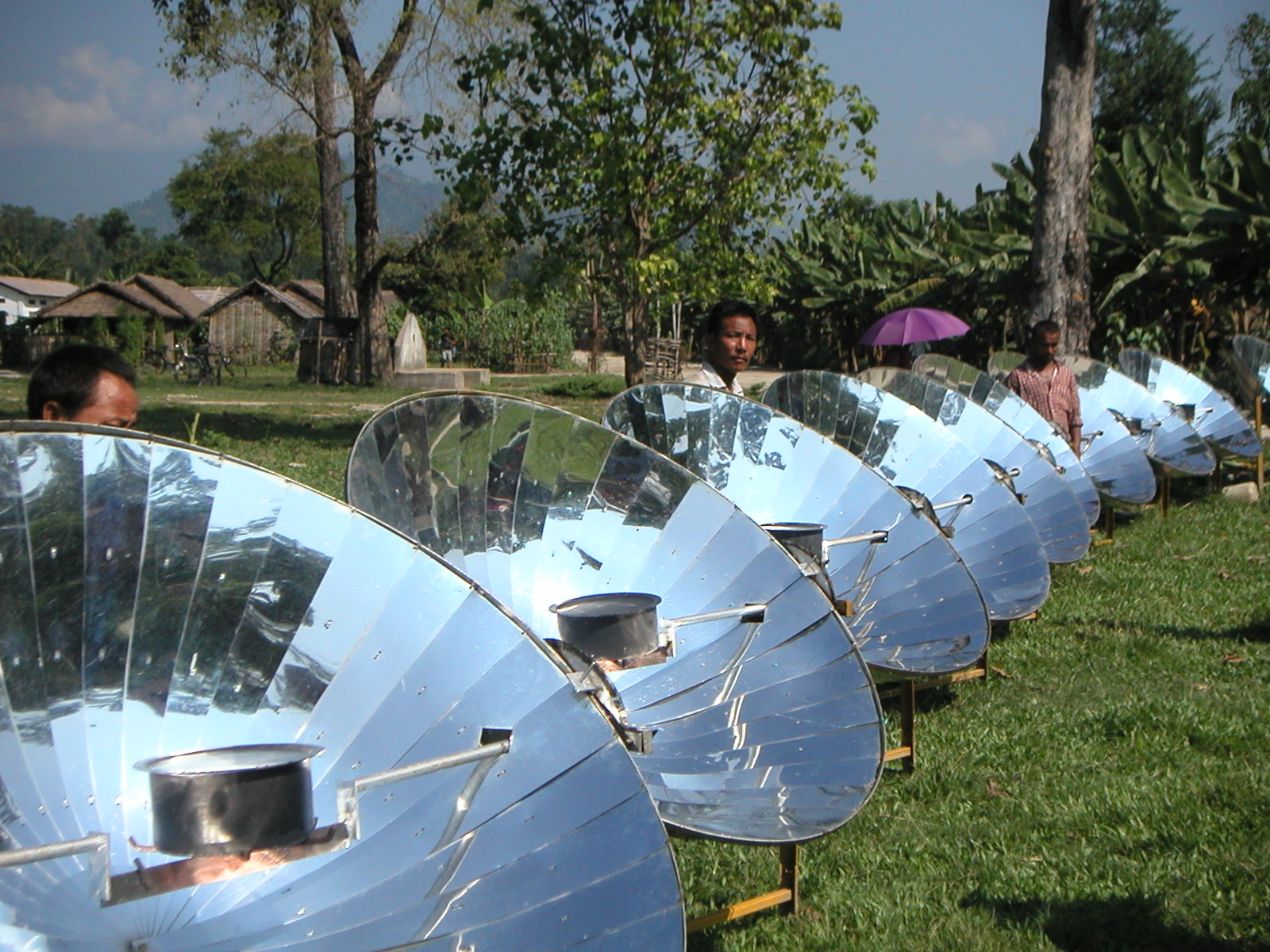 The Critical Angle and Percent Efficiency of Parabolic Solar