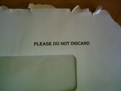 please do not discard