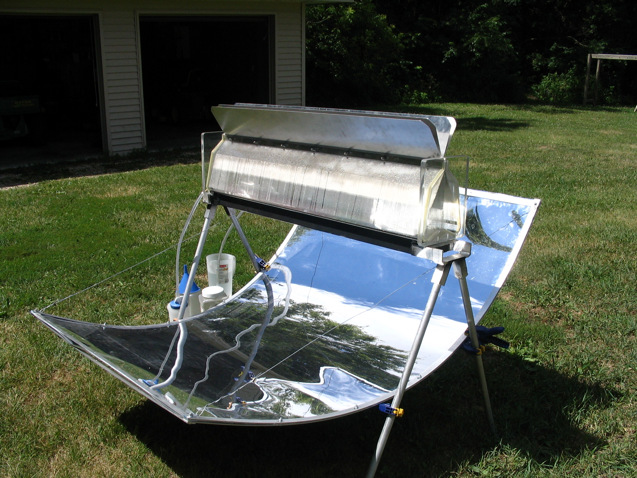 Solar Water Distilation