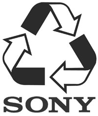 sony recycles