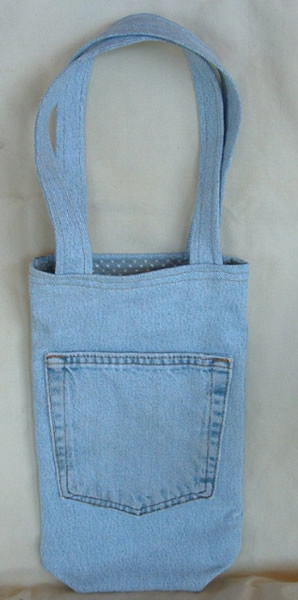 denim jean bag