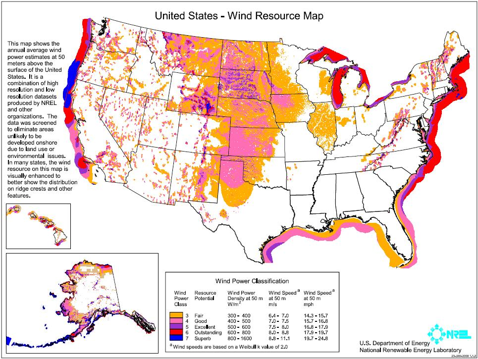 How To Power The Entire Country With Renewable Energy Fun With - Renewable energy sources by location in us map