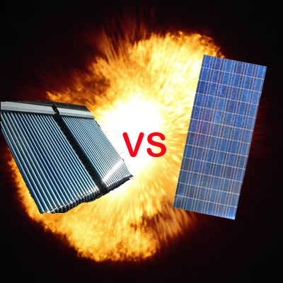 Solar Power War? PV VS. Thermal | The Sietch Blog