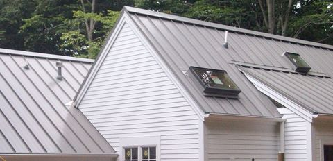 Image of Standing seam metal roof